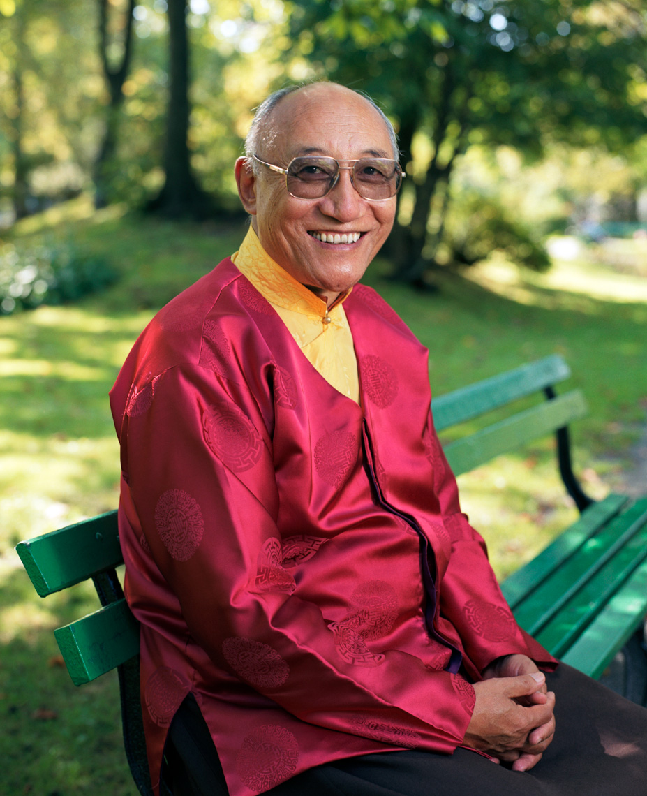 Ato Rinpoche at the Public Gardens