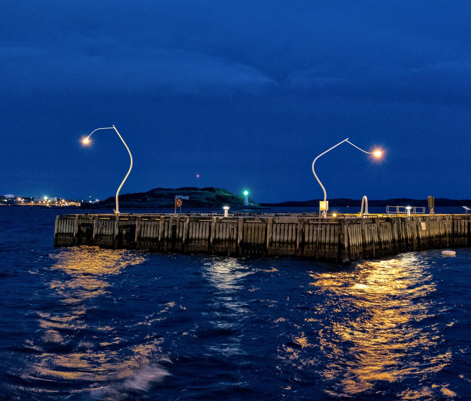 Night Photography at the Dockyards and Pier
