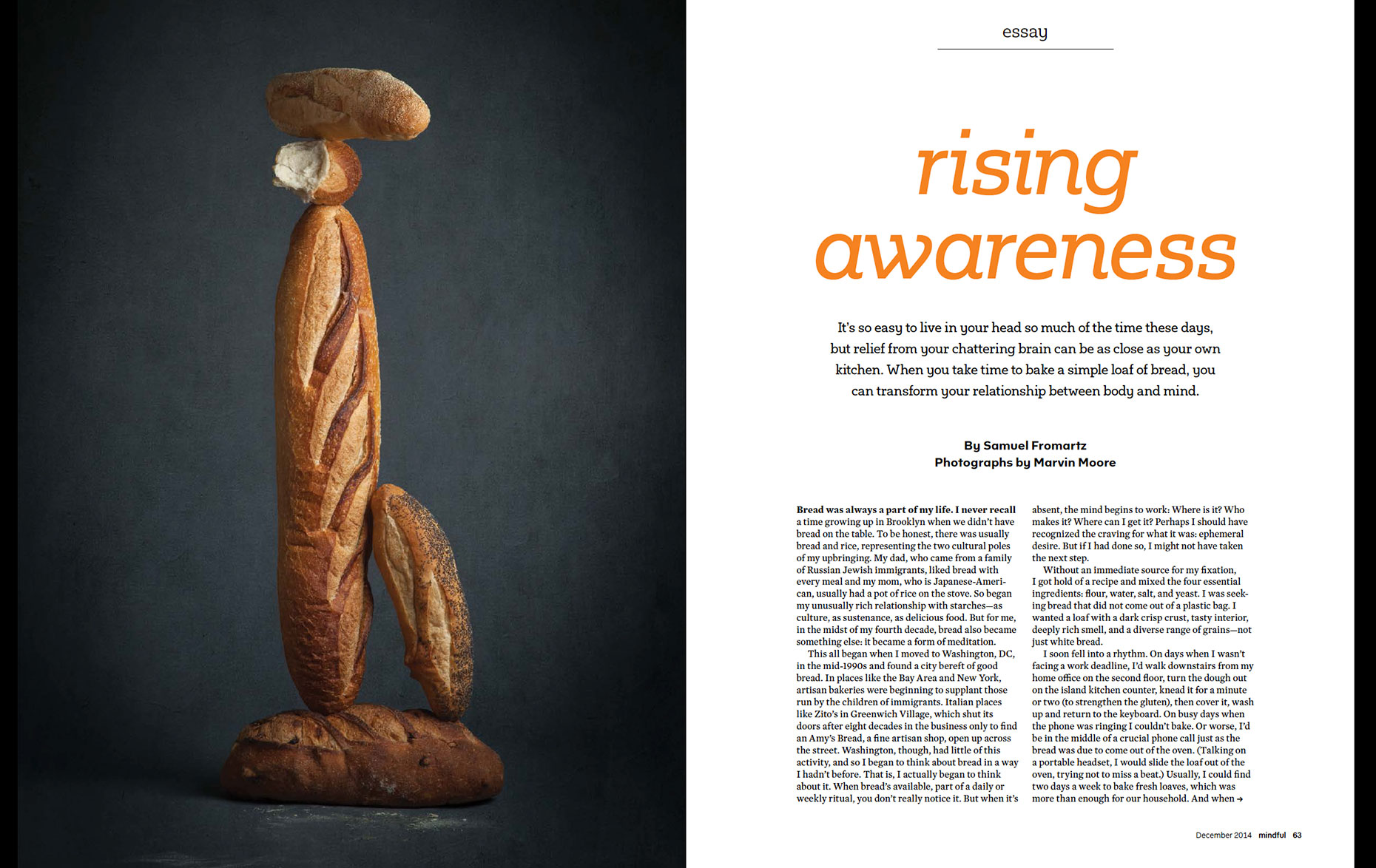 Bread, Mindful Magazine