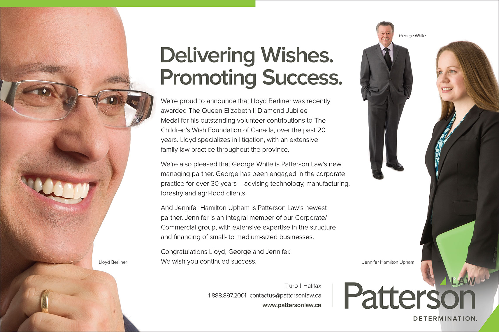 Patterson Law Ad