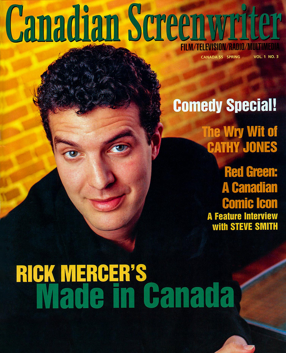 Rick Mercer Cover